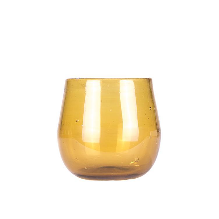 glas rund bernstein 4829 mundgeblasene gl ser wohnen loveistheanswer. Black Bedroom Furniture Sets. Home Design Ideas